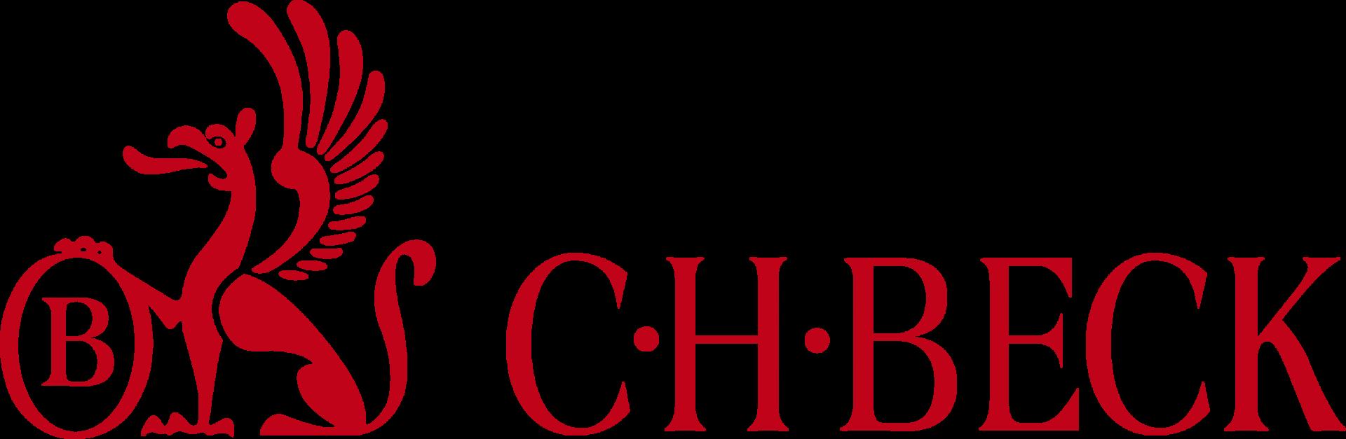 logo grifin C. H. BECK vedle sebe červená OŘEZ